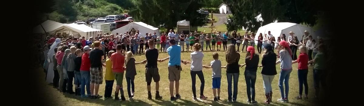 Sommer-Zeltlager… Gott führt!